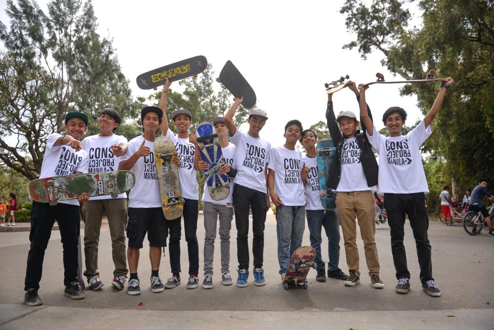 Skate participantss