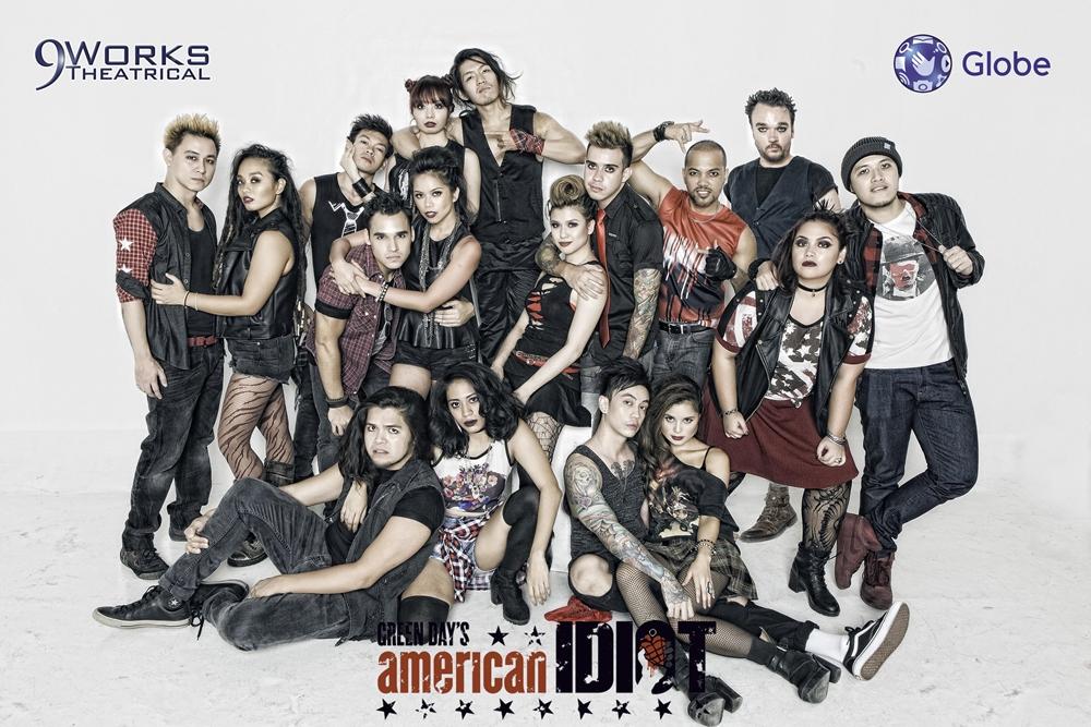 American Idiot group photo