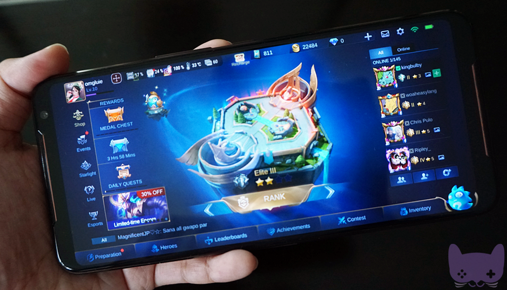 ROG Phone 2 Unboxing AMOLED Display