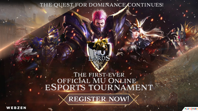 Join PlayPark's First Esports Event for MU - MU Lords