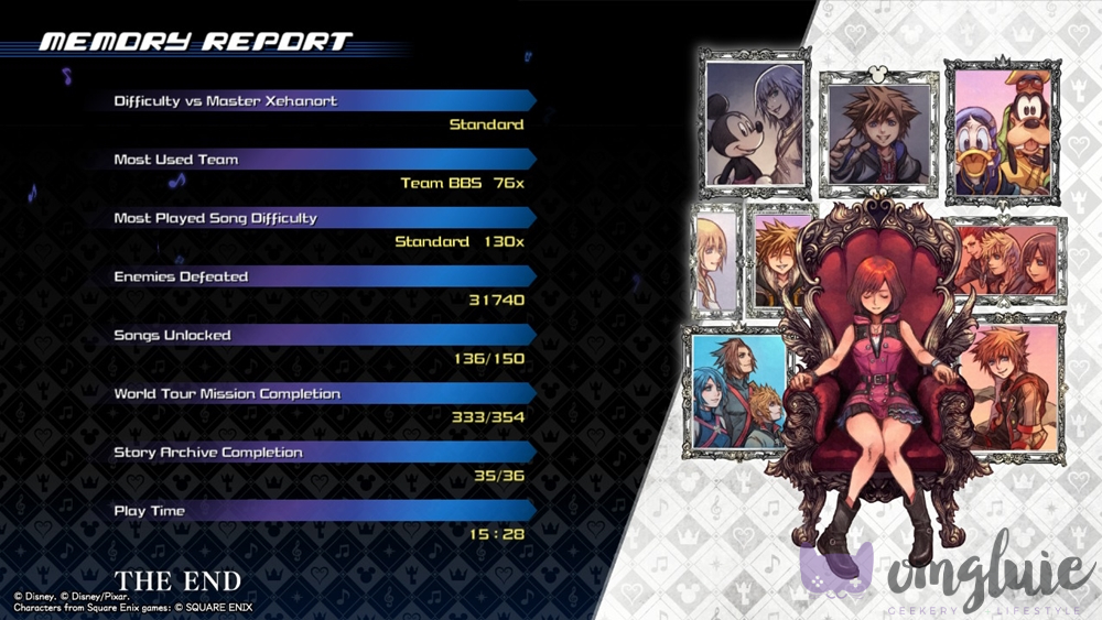 Kingdom Hearts Melody of Memory Game Review