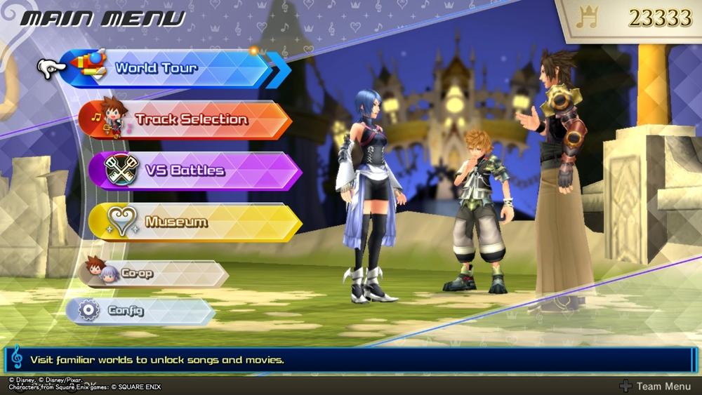 Kingdom Hearts Melody of Memory Gameplay Modes
