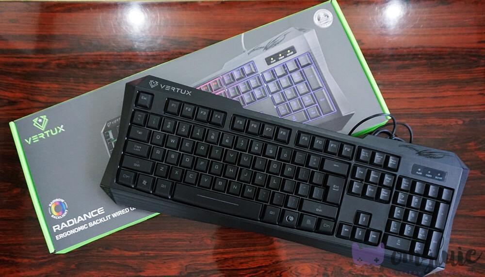 Vertux Gaming Radiance Keyboard