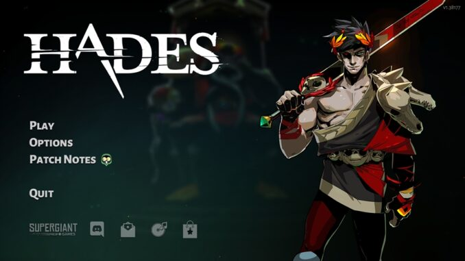Hades Video Game Review