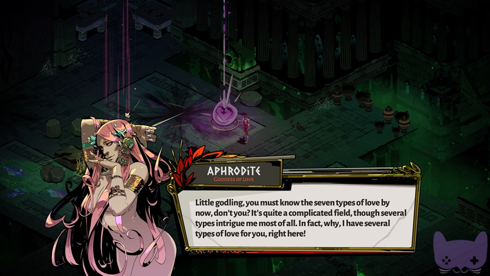 Hades Video Game Review Aphrodite