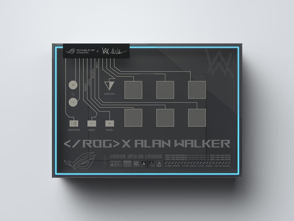 Zephyrus G14 Alan Walker Special Edition – ROG Remix sampler