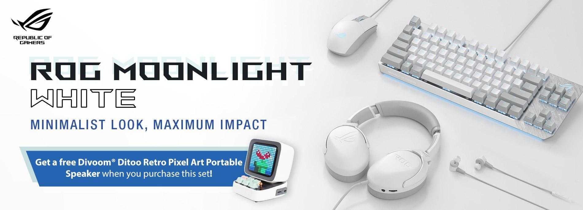 ROG Moonlight White Keyboard Price